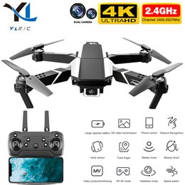 New S62 drone 4K HD dual camera WiFi Fpv air pressure high maintenance long-distance flight foldable drone RC Quadcopter toy 210325 on Sale
