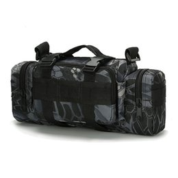 Discount backpack camera bags bag Camouflage multi-function 3P magic military fan tactical waist camera shoulder bag