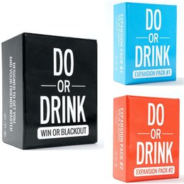 Wholesale Do or Drink Party Card Game for College Camping 21st Birthday Parties Funny for Men and Women