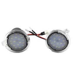 Emergency Lights Rearview Mirror Illuminated Floor Light LED Under Puddle Side Lamp For on Sale