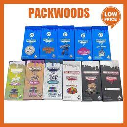 venda por atacado Packwoods Tubes Preroll Bolsa de Embalagem de Embalagem De Plástico Bolas De Armazenamento De Armazenamento Seco Botel De Silicone 11.8 * 2.4cm Caixa Runtz Cookies