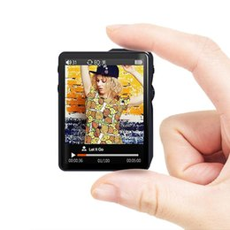 Wholesale & MP4 Players Smy MP3 Profession Lossless Music Player Master Chip DSD256 Sport Mini Walkman Portable Support OTG AIFF TF Card