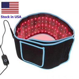 Portable Led Slimming Waist Belts Red Light Infrared Therapy Belt Pain Relief LLLT Lipolysis Body Shaping Sculpting 660nm 850nm Lipo Laser