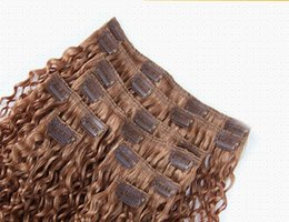 China Super Quality No tangles Virgin Indian Kinky Curly Weaves Clip In Hair Extensions 6A Indian Human Hair Extension 10-30 Inches supplier 6a indian virgin human hair suppliers