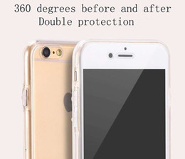 $enCountryForm.capitalKeyWord Canada - 360TPU Ultra-thin 2 in 1 Front And Back Cover Full Cover Screen Protection For iPhone 7 6 6s 6plus Samsung S7 S7edge