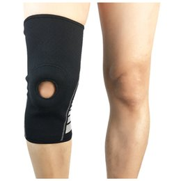 knees protector 2019 - Wholesale- Sports Knee Pads Cycling Breathable Leg Knee Support Brace Wrap Protector Knee Pads Basketball Kneepads disco