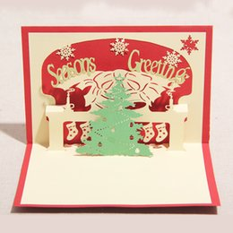 Kirigami christmas tree card canada best selling kirigami kirigami christmas tree card canada 100mm150mm high quality handmade merry christmas tree words m4hsunfo