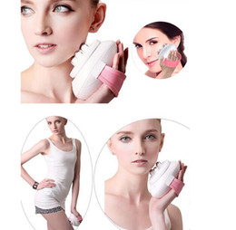 fat massage roller UK - mini portable Body Relax slimming Massage 6 rollers Cellulite Control electric Roller facial sculpting Massager Thigh Body Slimmer
