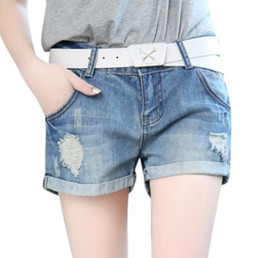 Discount Shorts Jeans Feminino Plus Size | 2017 Shorts Jeans ...