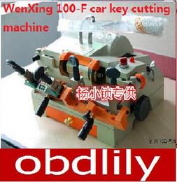 $enCountryForm.capitalKeyWord Canada - 100% Original WenXing key cutter car key cutting machine 100-F & car key cutter 100F Free DHL shipping