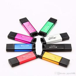 $enCountryForm.capitalKeyWord UK - USB2.0 Micro SD Card Readers T-Flash M2 Memory R4 Card Reader Adapter 2gb 4gb 8gb 16gb 32gb 64gb High Speed Card Readers