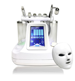5,6,7,8 en 1 bio rf marteau froid hydro microdermabrasion eau hydra dermabrasion spa peau du visage nettoyage machine