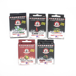 Chinese  Starbuzz E Hose Cartridges Refillable Replacement Hookah Hose Starbuzz Cartridges for Starbuzz E Hose Electronic Cigarette manufacturers