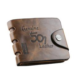 Brown fashion style hommes sac à main portefeuille 501 qualité en cuir souple bifold titulaire de la carte de crédit portefeuilles pour hommes livraison gratuite