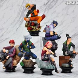 Action figures sAkurA online shopping - Naruto Action Figure Doll High Quality Sasuke Gaara Shikamaru Kakashi Sakura Naruto Anime Toys Collection for Boys Set