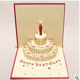 Happy Birthday Cake Cards Canada
