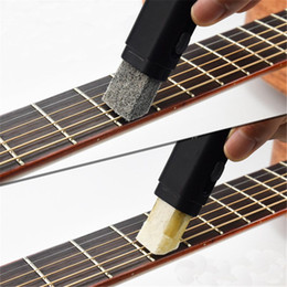 Stringed Instruments 1pcs Electric Guitar Bass Strings Scrubber Fingerboard Rub Cleaning Tool Maintenance Care Bass Cleaner Guitar Accessories Clear And Distinctive