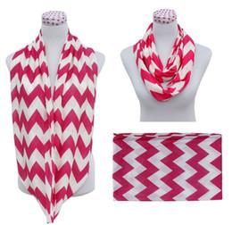 $enCountryForm.capitalKeyWord UK - New High quality Wave Chevron Infinity Scarf Women and Teens Circle Loop scarf circle ring scarf Loop scarf 2016 new style