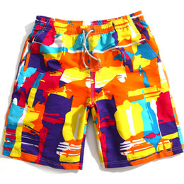 Wholesale flag board shorts for sale - Group buy New summer men s fashion swimming trunks sexy surt beach swimwear boxer board shorts sports suit men s swimwear flag