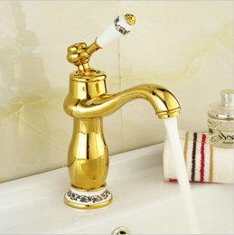 Bathroom Faucets Gold And Chrome discount chrome gold bathroom faucets | 2017 bathroom faucets gold