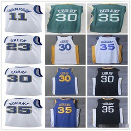 2017 2018 New Style Jersey 11 Klay Thompson 23 Draymond Green 9 Andre  Iguodala 6 Nick Young Hardwood Classic Jerseys Black Blue White 2531012fb