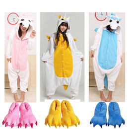 Animaux Adultes Pas Cher-Adulte Kigurumi Animal Costume Poupée Costume Cosplay Unicorn Onesie Halloween