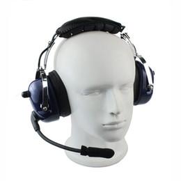 Venta al por mayor de Al por mayor-Nueva PTT VOX Volumen ajustable Walkie Talkie Accesorios Auriculares Auriculares auriculares para radio de dos vías AA0085