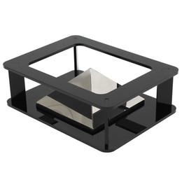 Al por mayor-marca nueva pirámide de proyección holográfica 3D DIY para 3.5inch-inch para iPhone 5 6 más NUEVO para ipad 3D MV