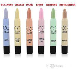 Pens Spots Canada - 72pcs lot Facial Care Face Makeup MN Cosmetic Concealer Pen Pencil Corretivo Stick Camouflage Palette For Dark Circle & Spot & Acne