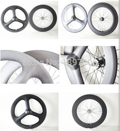 $enCountryForm.capitalKeyWord UK - 3k matt 700c 3-spokes 70mm front clincher wheel and rear 88mm clincher wheel with 23mm width for track bike with fixed gear
