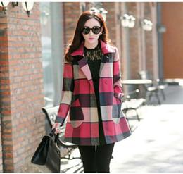 Womens Beige Plaid Coats Online | Womens Beige Plaid Coats for Sale