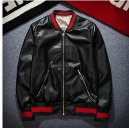 Mens leather bomber jacket nz