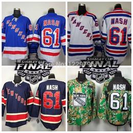 $enCountryForm.capitalKeyWord Canada - The Perfect Men's New York Rangers Hockey Jerseys #61 Rick Nash Jersey Home Blue Road White Alternate Navy Blue 85th Stitched Je