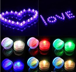 $enCountryForm.capitalKeyWord Canada - Submersible candle Underwater Flameless LED Tealights Waterproof electronic Smokeless candles lights Wedding Birthday Party Xmas Decoration