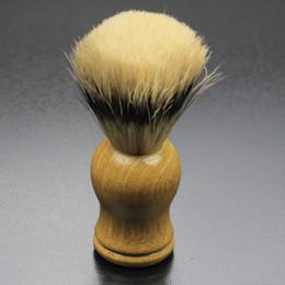 $enCountryForm.capitalKeyWord Canada - Best BADGER Hair Shaving Brush For Shaving Barber Tool Best Men Gift Wood Handle