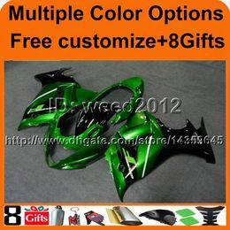 Großhandel 23 farben + 8Gifts Motorabdeckung GRÜNE GSX 650F GSX650 F 2008 2009 Karosserie-Verkleidung Verkleidung für Suzuki GSX650F GSX 650F 08 09 10