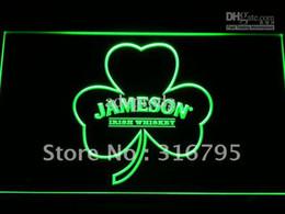 Neon Shamrock Light Canada - a215-g Jameson Whiskey Shamrock Neon Light Sign