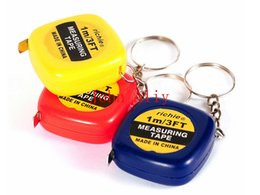$enCountryForm.capitalKeyWord NZ - New Tape Measure portable Pull Ruler keychain keyring tool Retractable Ruler bag charms man gift color random