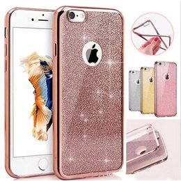 Wholesale luxury diamond rhinestone bling cellphone case hybrid in glitter back cover soft case for iphone plus s plus