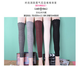 knee socks cover 2020 - NEW over knee leg warmers Dance socks Warm up knitted booty Gaiters Boot Cuffs Socks Boot Covers Leggings Tight 6pair lo