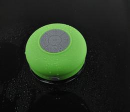 Iphone wIreless bluetooth mInI speakers online shopping - Bluetooth Waterproof Speaker Shower Wireless Speakers BTS Handfree Sucker for iPhone S S Samsung S4 Smartphone with Retail Box US02