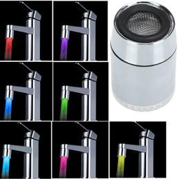 7 цветов изменение мини - кухня аксессуары для ванной комнаты Cocina Pure Glow светодиодные поток воды Torneiras Cozinha кран