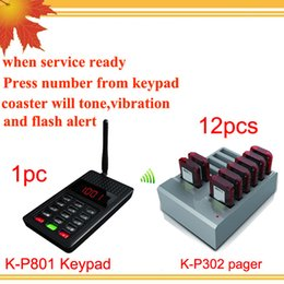 Wireless Restaurant Paging System Canada Best Selling