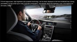 $enCountryForm.capitalKeyWord Canada - 5PCS Ifound HUD S5 OBD Common Driving Fault Detector Smart Meter Fuel Onboard Computer Display Odometer Car HUD 5.5 Inch Color Projection