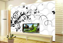 $enCountryForm.capitalKeyWord Canada - Custom photo wallpaper Large 3D sofa TV background wallpaper mural wall Black openwork pattern 3d mural wallpaper 201515754