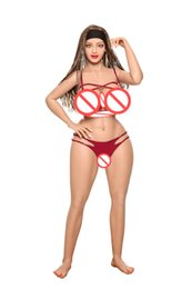 Solid Silicone 3d Love Dolls UK - Full Body Sex Doll Hot Woman Most Realistic Silicone Doll 155CM Female Love Doll Big Breast Artificial 3D Vagina