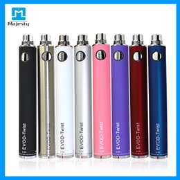 best ce4 NZ - New Arrival Evod twist Adjustable Voltage Battery For CE4 EVOD best e cig battery electronic cigarette Healthy E-cigarette