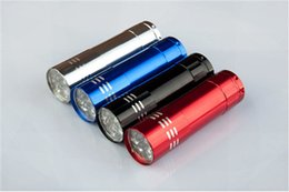 Wholesale Aluminum Alloy Mini Flashlight Portable Promotional Gifts Special Treatment Light No The Battery Charged Heat In