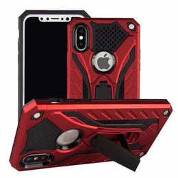 Hybrid Armor Case Ständer für das iPhone XR XS Max X 8 7 Plus Samsung S10 Lite S9 J2 A6 2018 Note 9 LG Stylo 3 4 MOTO E5 OPP