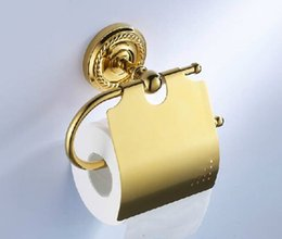 2014 Paper Holder for Toilet Paper The Antique Gold Plated Copper Towel  Rack Coiling Roll Hand Cartons Waterproof Wall HangingDiscount Gold Plated Toilet   2017 Gold Plated Toilet Paper on  . 24k Gold Toilet Paper. Home Design Ideas